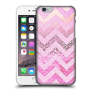 Official Monika Strigel Funky Chevron Pink Muffin Hard Back Case For Apple Iphone 6 / 6S