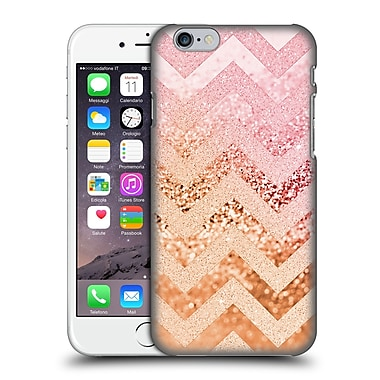Official Monika Strigel Funky Chevron Strawberry Hard Back Case For Apple Iphone 6 / 6S