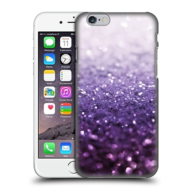 Official Monika Strigel Frozen Glitter Purple Hard Back Case For Apple Iphone 6 / 6S