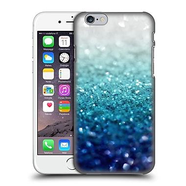 Official Monika Strigel Frozen Glitter Teal Hard Back Case For Apple Iphone 6 / 6S