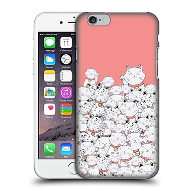 Official Monika Strigel Find The Panda Coral Hard Back Case For Apple Iphone 6 / 6S
