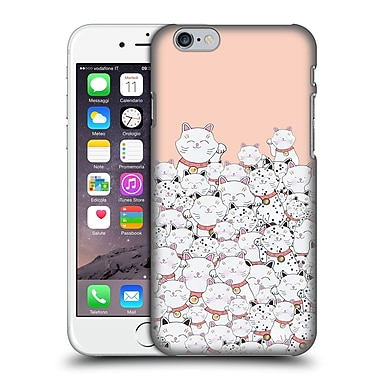 Official Monika Strigel Find The Panda Peach Hard Back Case For Apple Iphone 6 / 6S