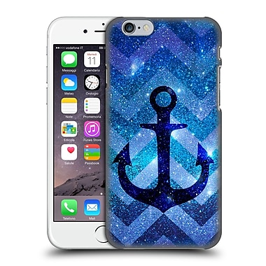 Official Monika Strigel Galaxy Anchors Blue Hard Back Case For Apple Iphone 6 / 6S