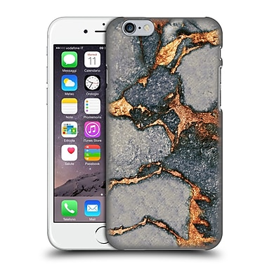 Official Monika Strigel Gemstone And Gold Grey Hard Back Case For Apple Iphone 6 / 6S