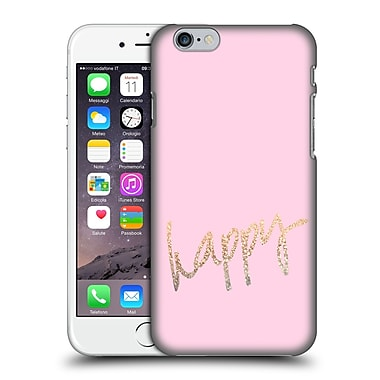 Official Monika Strigel Gold And Happy Pink Hard Back Case For Apple Iphone 6 / 6S