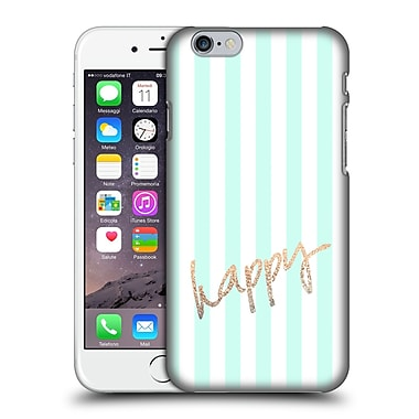Official Monika Strigel Gold And Happy Pretty Hard Back Case For Apple Iphone 6 / 6S