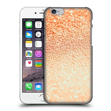 Official Monika Strigel Glitters Coral 2 Hard Back Case For Apple Iphone 6 / 6S