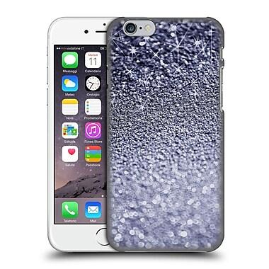 Official Monika Strigel Glitters Dark Silver Hard Back Case For Apple Iphone 6 / 6S