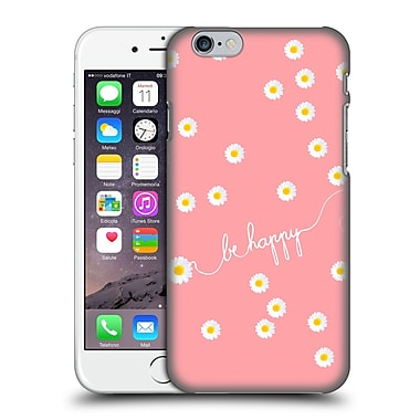 Official Monika Strigel Happy Daisy Coral Hard Back Case For Apple Iphone 6 / 6S