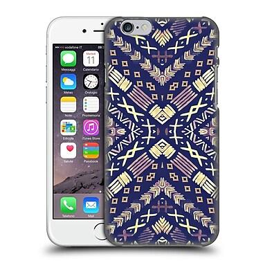 Official Monika Strigel Happy Echo Multi Blue Hard Back Case For Apple Iphone 6 / 6S