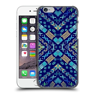 Official Monika Strigel Happy Echo Multi Blue 2 Hard Back Case For Apple Iphone 6 / 6S
