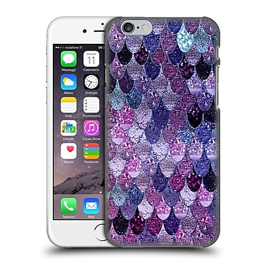 Official Monika Strigel Happy Mermaid Dark Purple Hard Back Case For Apple Iphone 6 / 6S