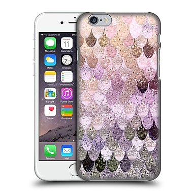 Official Monika Strigel Happy Mermaid Pastel Rose Hard Back Case For Apple Iphone 6 / 6S