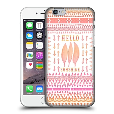 Official Monika Strigel Happy Quote Hello Sunshine Hard Back Case For Apple Iphone 6 / 6S