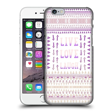 Official Monika Strigel Happy Quote Live Love Laugh Hard Back Case For Apple Iphone 6 / 6S