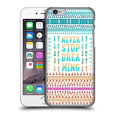 Official Monika Strigel Happy Quote Never Stop Dreaming Hard Back Case For Apple Iphone 6 / 6S