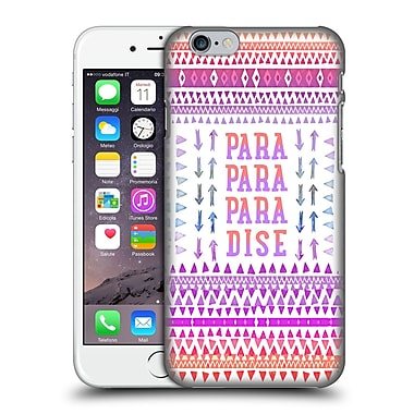 Official Monika Strigel Happy Quote Paradise Hard Back Case For Apple Iphone 6 / 6S
