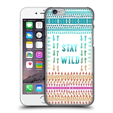 Official Monika Strigel Happy Quote Stay Wild Hard Back Case For Apple Iphone 6 / 6S