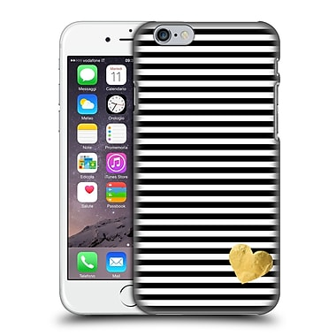 Official Monika Strigel Little Heart Black Hard Back Case For Apple Iphone 6 / 6S