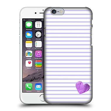 Official Monika Strigel Little Heart Purple Hard Back Case For Apple Iphone 6 / 6S