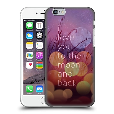 Official Monika Strigel Love Quote Light Hard Back Case For Apple Iphone 6 / 6S