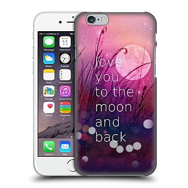 Official Monika Strigel Love Quote Pink Hard Back Case For Apple Iphone 6 / 6S