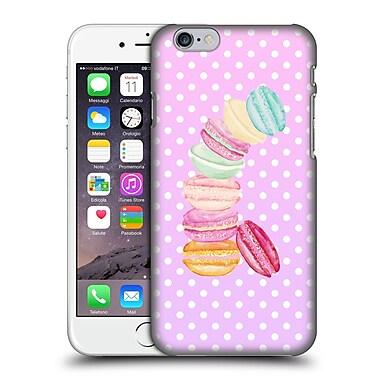 Official Monika Strigel Macarons Pink Hard Back Case For Apple Iphone 6 / 6S