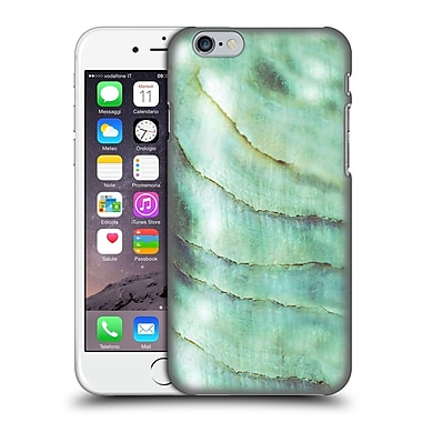 Official Monika Strigel Pastel Seashell Emerald Hard Back Case For Apple Iphone 6 / 6S