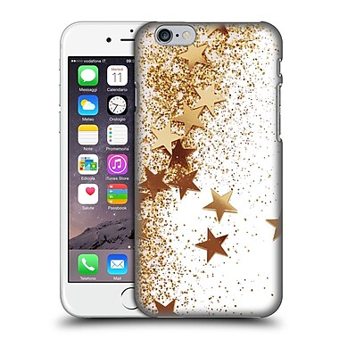 Official Monika Strigel Shaky Stars Gold Hard Back Case For Apple Iphone 6 / 6S