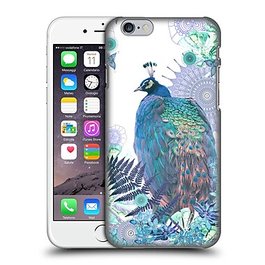 Official Monika Strigel Tropical Peacock Blue Hard Back Case For Apple Iphone 6 / 6S