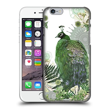 Official Monika Strigel Tropical Peacock Emerald Hard Back Case For Apple Iphone 6 / 6S