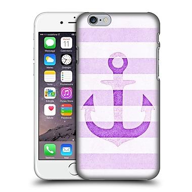 Official Monika Strigel Vintage Anchors Lavender Hard Back Case For Apple Iphone 6 / 6S