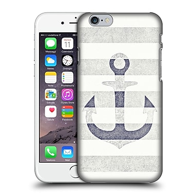 Official Monika Strigel Vintage Anchors White Hard Back Case For Apple Iphone 6 / 6S