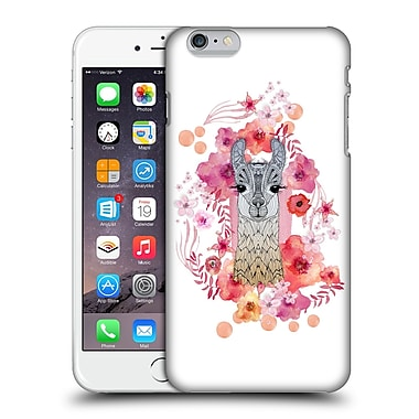 Official Monika Strigel Animals And Flowers Baby Lama Hard Back Case For Apple Iphone 6 Plus / 6S Plus