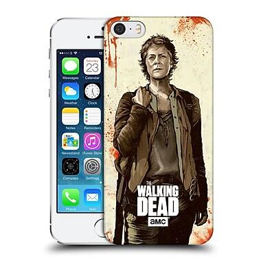Official Amc The Walking Dead Distressed Illustrations Carol Hard Back Case For Apple Iphone 5 / 5S / Se