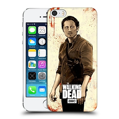 Official Amc The Walking Dead Distressed Illustrations Glenn Hard Back Case For Apple Iphone 5 / 5S / Se