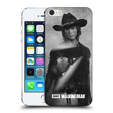 Official Amc The Walking Dead Exposure Carl Hard Back Case For Apple Iphone 5 / 5S / Se