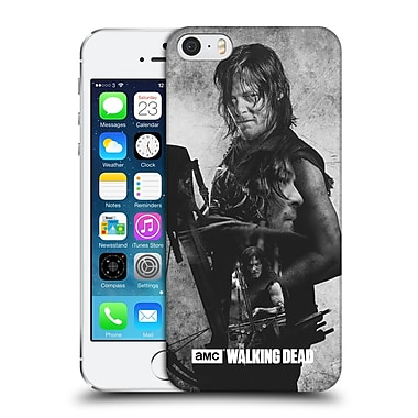 Official Amc The Walking Dead Exposure Daryl Hard Back Case For Apple Iphone 5 / 5S / Se