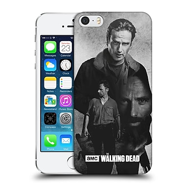 Official Amc The Walking Dead Exposure Rick Hard Back Case For Apple Iphone 5 / 5S / Se