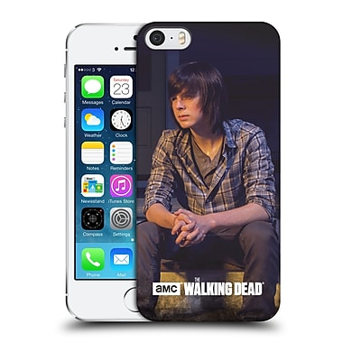 Official Amc The Walking Dead Filtered Characters Carl Hard Back Case For Apple Iphone 5 / 5S / Se