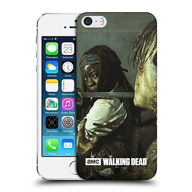 Official Amc The Walking Dead Filtered Characters Michonne Katana Hard Back Case For Apple Iphone 5 / 5S / Se