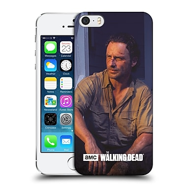 Official Amc The Walking Dead Filtered Characters Rick Hard Back Case For Apple Iphone 5 / 5S / Se