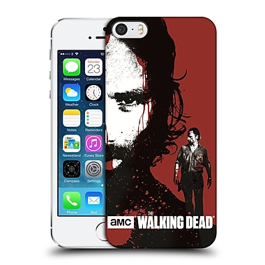 Official Amc The Walking Dead Gore Bloody Face Rick Hard Back Case For Apple Iphone 5 / 5S / Se