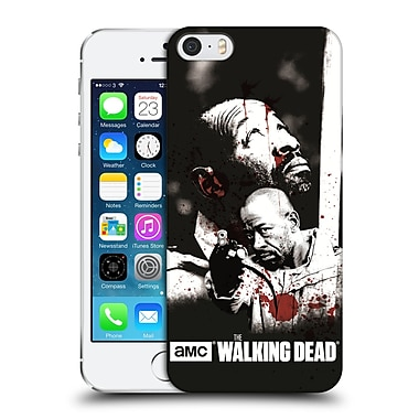 Official Amc The Walking Dead Gore Morgan Hard Back Case For Apple Iphone 5 / 5S / Se
