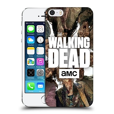 Official Amc The Walking Dead Logo Group Hard Back Case For Apple Iphone 5 / 5S / Se