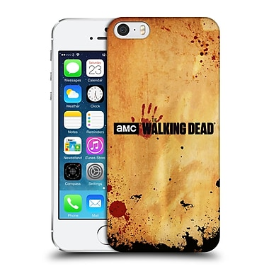 Official Amc The Walking Dead Logo Horizontal Hard Back Case For Apple Iphone 5 / 5S / Se