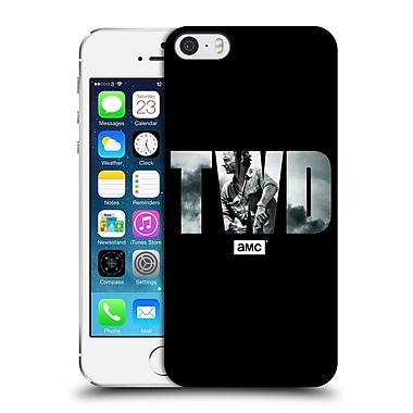 Official Amc The Walking Dead Logo Portrait Hard Back Case For Apple Iphone 5 / 5S / Se