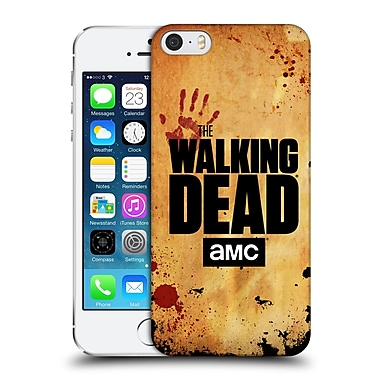 Official Amc The Walking Dead Logo Stacked Hard Back Case For Apple Iphone 5 / 5S / Se