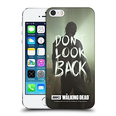 Official Amc The Walking Dead Quotes Dont Look Back Hard Back Case For Apple Iphone 5 / 5S / Se
