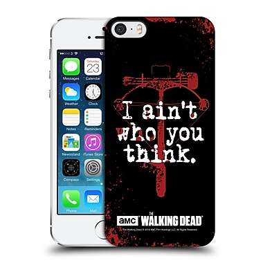 Official Amc The Walking Dead Quotes Daryl Think Hard Back Case For Apple Iphone 5 / 5S / Se